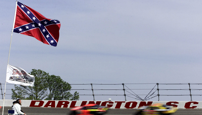 nascar confederate featured