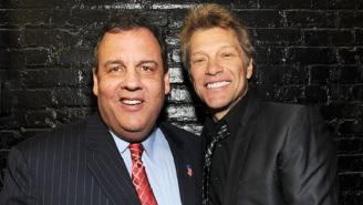 Chris Christie Wants To Ride Bon Jovi's Steel Horse All The Way To The White House