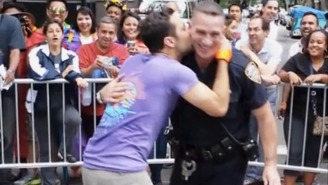 This Awesome NYPD Officer Let Loose During NYC Pride This Weekend