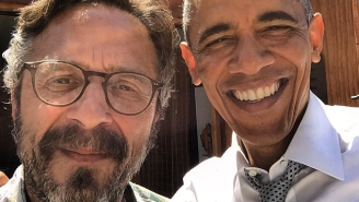 President Obama Named His Favorite Comedians On Marc Maron's 'WTF' Podcast
