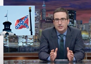 John Oliver On The Confederate Flag: 'Put It In A Box Labeled Bad Flag Where No One Can See It'
