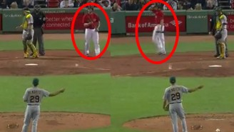 Things Got Confusing When The A's Switch-Pitcher Went Up Against A Switch-Hitter