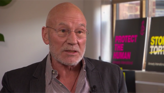 Why Is Patrick Stewart Defending This Reportedly Anti-Gay Bakery?
