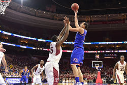 School is Out At Kansas And Perry Ellis Is Throwing Sick No-Look Pool Passes