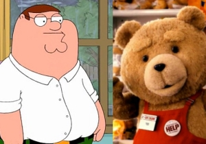 All The Ways Peter From 'Family Guy' And Ted From 'Ted 2' Are Alike