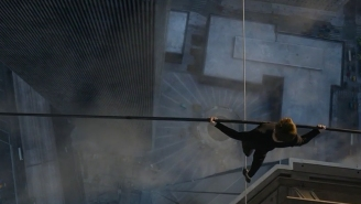The new trailer for Robert Zemeckis' 'The Walk' finds Joseph Gordon-Levitt on a high wire