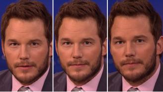 Chris Pratt Shows Conan His Three Emotional Acting Faces From 'Jurassic World'