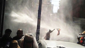 Turkish Police Used Tear Gas And Water Cannons To Disperse Istanbul Pride Parade
