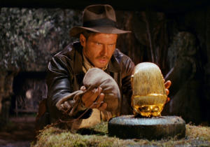 This Indiana Jones Boulder Chase Looks SO FUN!