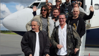 Faith No More Manages To Save The Day For Their Pals In Refused With A Plane Ride