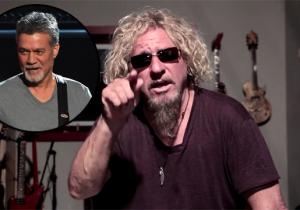 Sammy Hagar Angrily Responds To Eddie Van Halen Over Michael Anthony: 'You're A Liar'