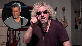 Sammy Hagar Angrily Responds To Eddie Van Halen Over Michael Anthony: 'You're A Liar'