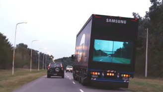 New Technology Makes It Possible To See Through A Semi Truck