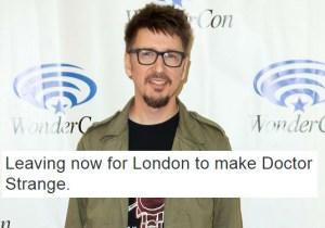 Scott Derrickson's 'Doctor Strange' Tweet Sparked A Wonderful 'Doctor Dolittle' Tangent