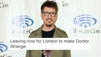 Scott Derrickson's 'Doctor Strange' Tweet Sparked A Wonderful 'Doctor Dolittle' Tangent