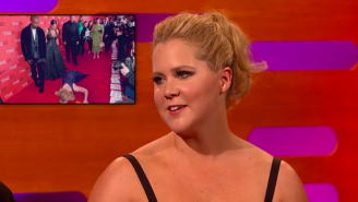 Amy Schumer Explains Why She Pranked Kanye West And Kim Kardashian On The Red Carpet