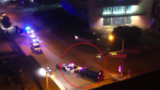 Here's Frightening Footage Showing The Late Night Assault On Dallas Police Headquarters (UPDATED)