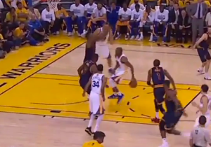 The Andre Iguodala Show Continues With This Behind-The-Back Bounce Pass