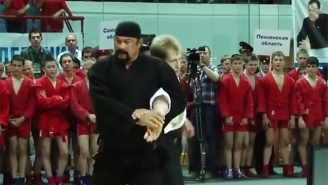 Steven Seagal Has His Own Clickbait Website (And What We Discovered May Shock You)