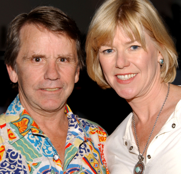 'Friday the 13th' director Sean Cunningham and Adrienne King at Fangoria Magazine's Weekend of Horrors in 2005.