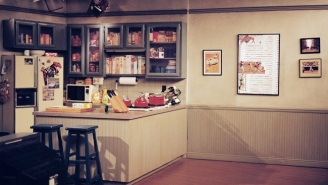 'Seinfeld' Set Photos Reveal The Hidden Fourth Wall Of Jerry's Apartment