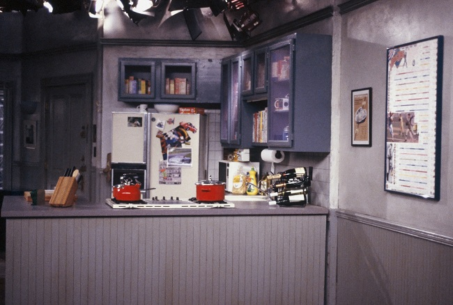 SEINFELD -- Pictured: Set of Jerry Seinfeld's Apartment -- Photo by: Joey Delvalle/NBCU Photo Bank