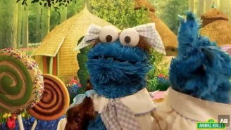 Here's The Best Video Of Cookie Monster Singing 'Gimme Some More' By Busta Rhymes You'll See Today