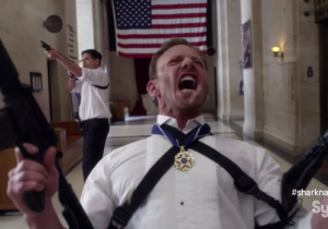 The First Teaser For 'Sharknado 3: Oh, Hell No!' Certainly Doesn't Disappoint