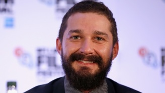 Shia 'Just Do It' LaBeouf Was Hospitalized For Putting His Head Through A Window On A Film Set