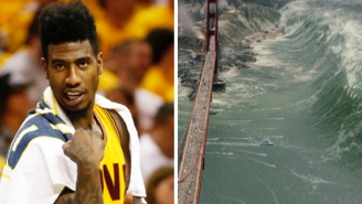 Iman Shumpert Dreads The Trip To Cali For The NBA Finals After Seeing 'San Andreas'
