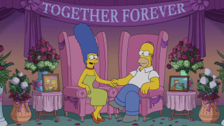Marge And Homer Simpson Reply To Separation Rumors By Mocking CNN