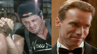 Who Would Win In A Fight: Arnold In 'True Lies' Vs. Stallone In 'Over The Top'?