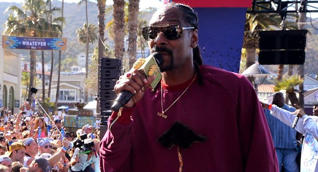 Snoop Dogg Stage ban