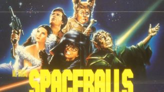 The SPACEBALLS scene we would rewind over and over and ove…