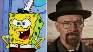 'SpongeBob' Channels Heisenberg In This Rather Fitting 'Breaking Bad' Mashup