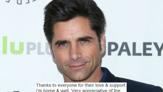 John Stamos Tweeted A 'Thank You' To The Beverly Hills Police Department For Giving Him A DUI
