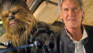 Chewbacca Fulfills Han Solo's Arm-Ripping Warning In This 'The Force Awakens' Deleted Scene