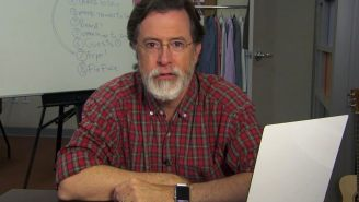 Stephen Colbert bids goodbye to the Colbeard as he preps for 'Late Show'