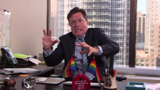 Stephen Colbert Brilliantly Mocks The SCOTUS Marriage Equality Dissenters