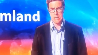 You Don't Have To Understand This Swedish News Anchor To Know He Has No Clue He's Live On Air