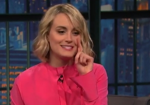 Taylor Schilling Injured Her Face While Filming A Sex Scene On 'Orange Is The New Black'