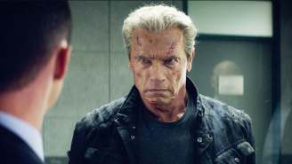 Watch Arnold Schwarzenegger Break Out Of Jail In This Exclusive 'Terminator: Genisys' Clip