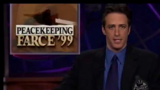 Check Out This Time-Lapse Video Of Jon Stewart Aging 16 Years On 'The Daily Show'
