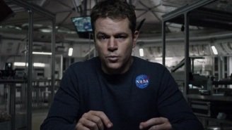 Matt Damon Is Going To 'Science The Sh*t Out Of' This First Trailer For 'The Martian'