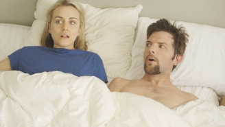 Review: Schwartzman and Scott shine in deeply uncomfortable 'The Overnight'