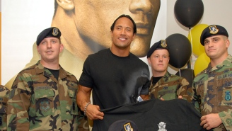 How The Rock Is Giving Back To The Troops With A Television Special
