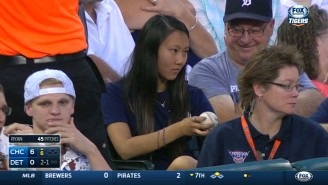 No One Has Ever Been More Confused By A Baseball