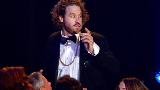 T.J. Miller From 'Silicon Valley' Is Really Good At Acceptance Speeches