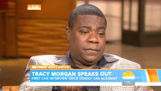 An Emotional Tracy Morgan Gave His First Interview Since The Crash That Nearly Killed Him