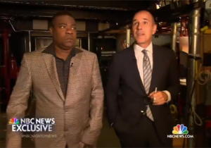Tracy Morgan Visited The 'SNL' Studio For The First Time Since His Tragic Accident